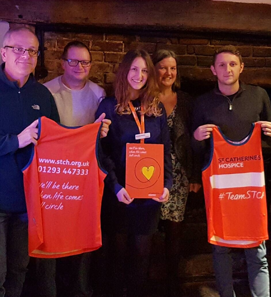 Worth Way Runners - St Catherines Hospice Vest