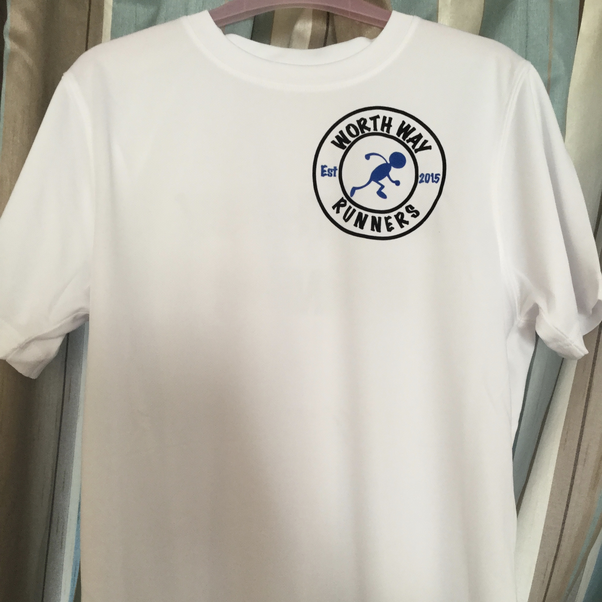Worth Way Runners - Unisex White Running Shirt