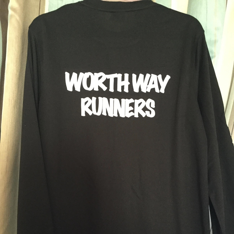 Worth Way Runners - Unisex Black Long Sleeve Shirt