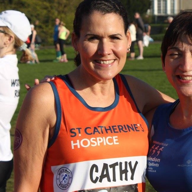 Worth Way Runners - Extra Wording on St Catherines Vests