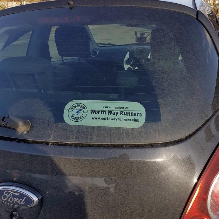 Worth Way Runners - Car Sticker